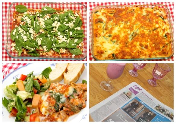 Lasagna-, núðlu-, og pastaréttir