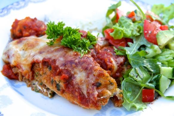 Parmesan- og kryddjurtakjúklingur